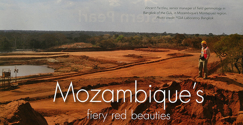 Mozambique's fiery red beauties