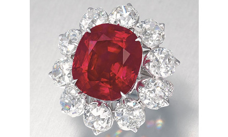 Flaming Red Ruby Fetches $18 Million at Christie's Hong Kong